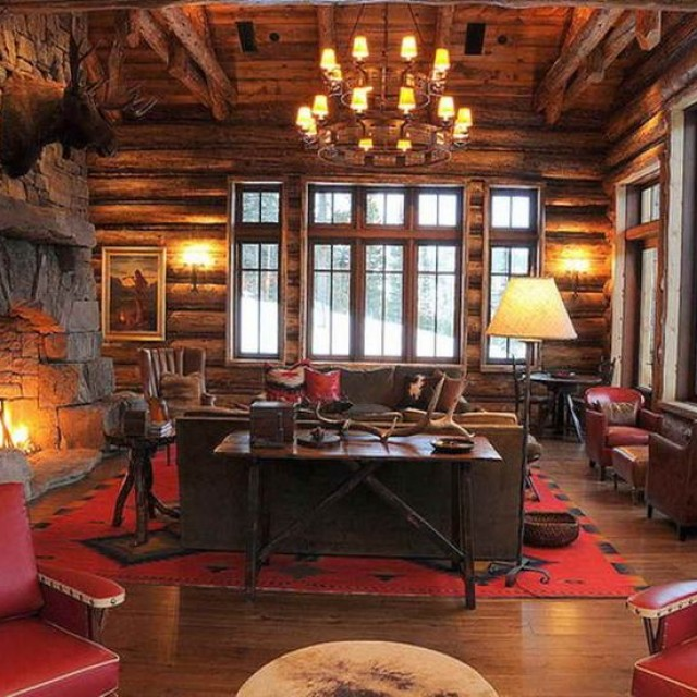 How to design a rustic living room