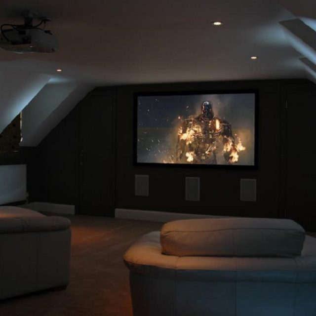 How to Turn the Attic into a Home Cinema Room