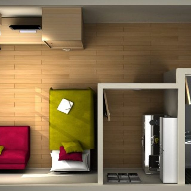 Ways to improve the interior design of your student room