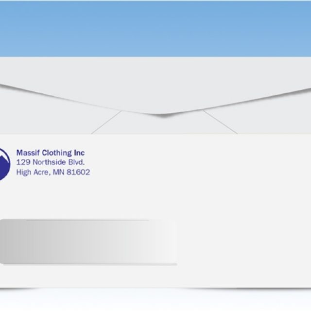 How to customize envelopes for business correspondence