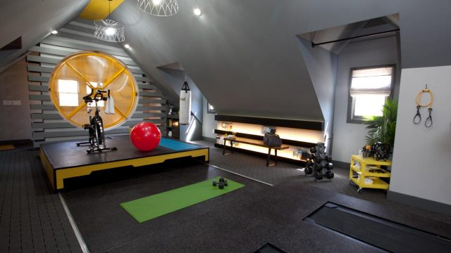 How to Turn Your Attic into a Home Gym