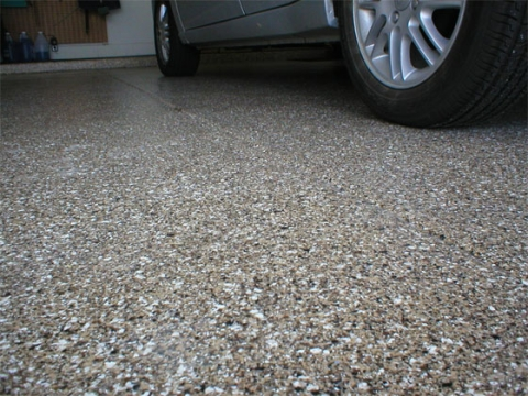 Clear benefits of epoxy garage floor coatings the clear benefits of epoxy garage floor coatings solutioingenieria Image collections