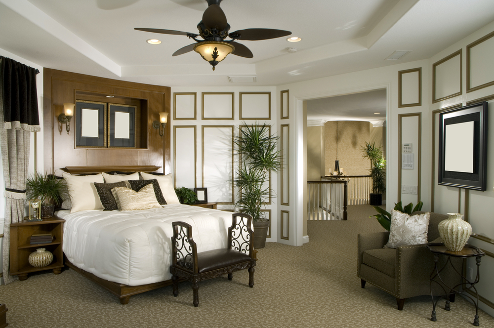Colonial home decor inspiration for Colonial bedroom decor