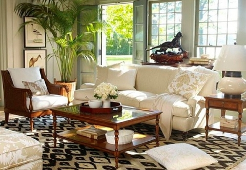 Colonial Home Decor Inspiration Picture