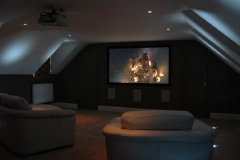 How to Turn the Attic into a Home Cinema Room Picture