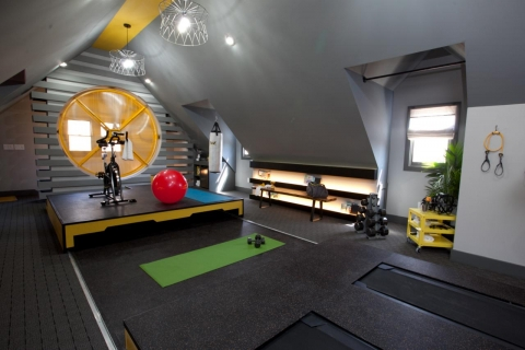 How to Turn Your Attic into a Home Gym Picture