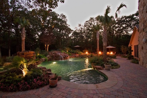 Landscaping project - infuse romance and freshness into your outdoor area