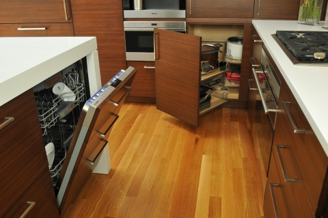 Practical Kitchen Appliance Arrangements Picture