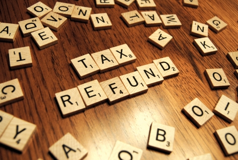 Tax rebate - a way of getting your money back