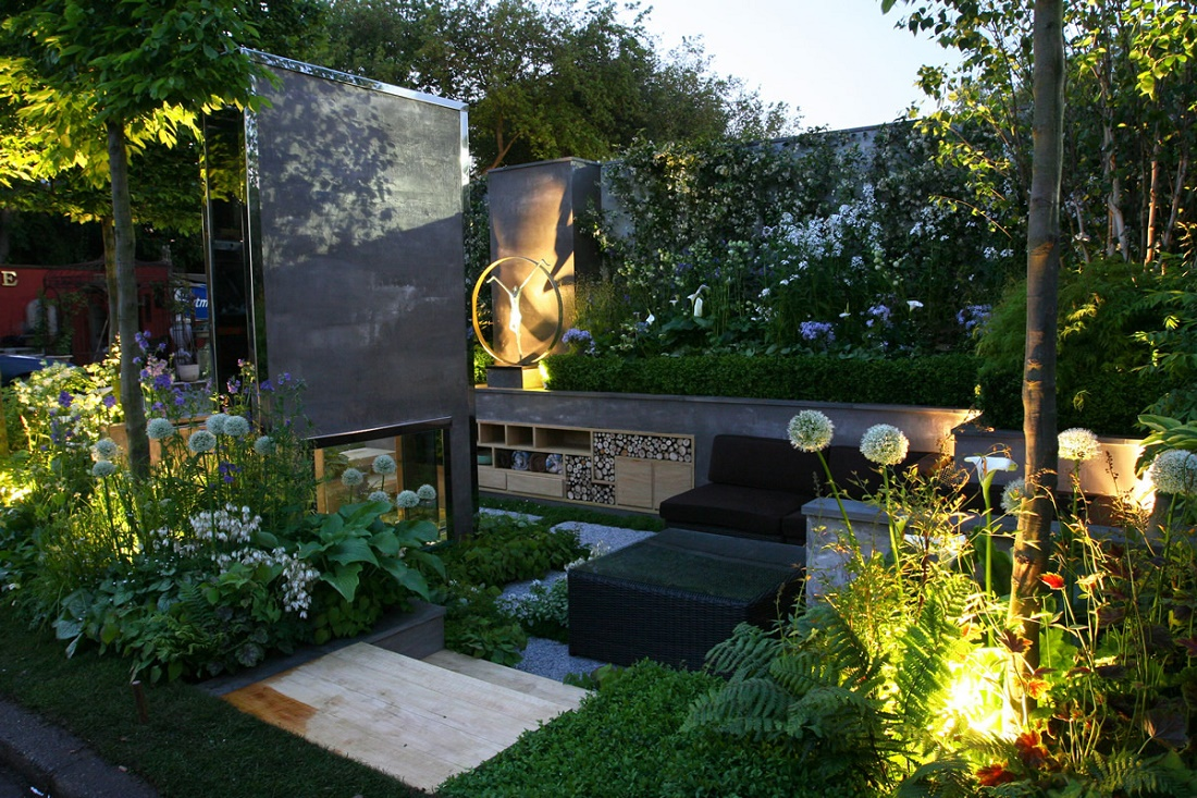 Top 5 most extravagant urban garden designs for Design of the garden