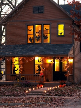 Unique Halloween Decorating Ideas Picture